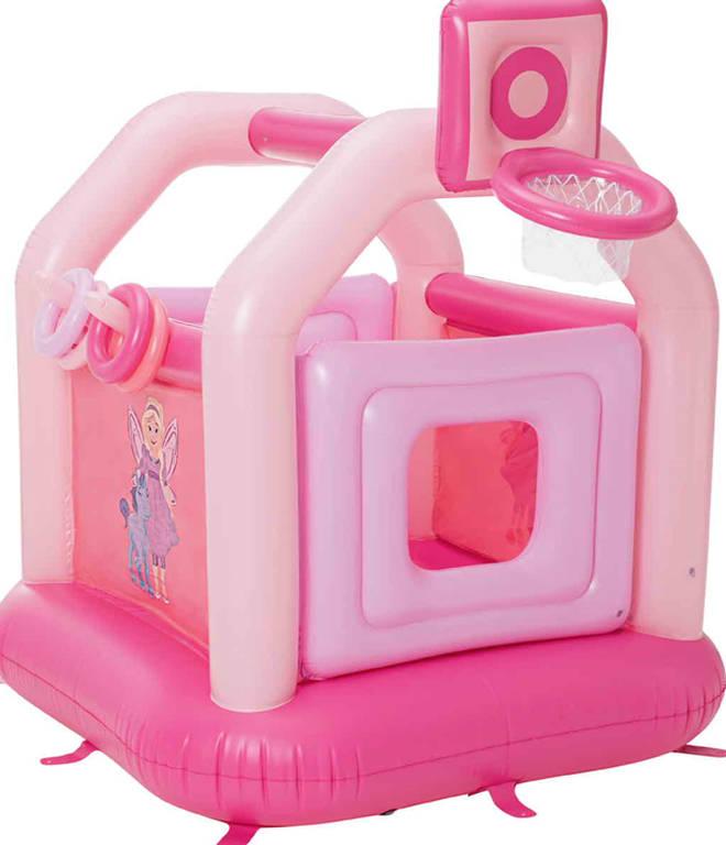 Lidl's fairy bouncy castle