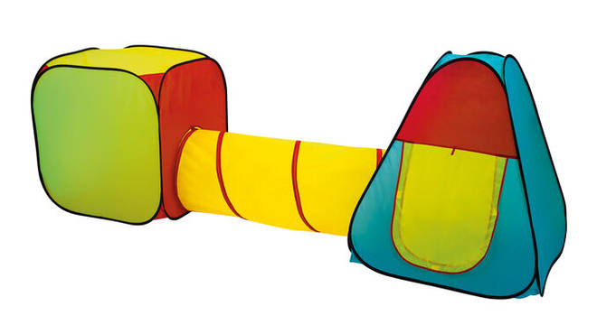 Lidl's play tent and tunnel