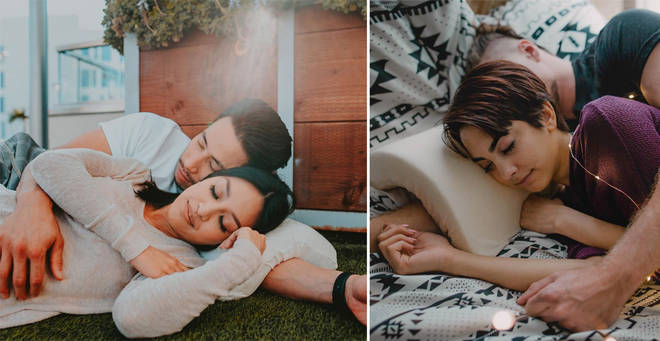 The Cuddling Pillow for Couples in US