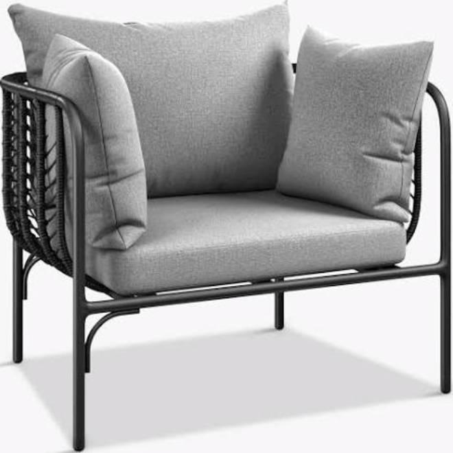 John Lewis & Partners Chevron Garden Lounging Chair