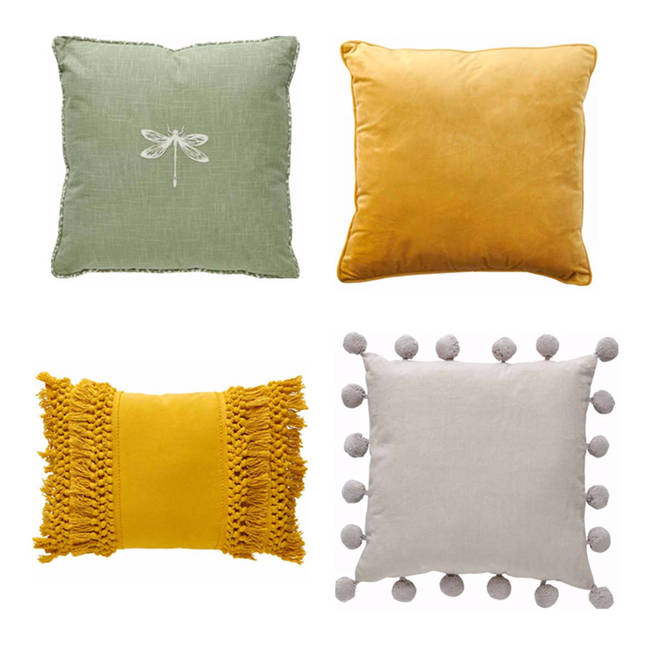 Cushions from Wilko from £8.00
