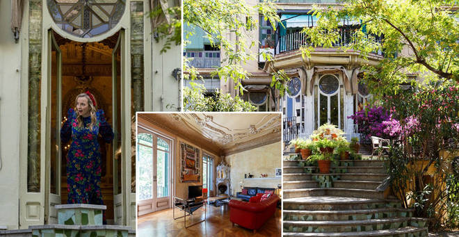 The stunning property is available to rent on Airbnb