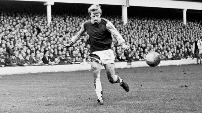 Harry Redknapp played for Westham from 1965-1972