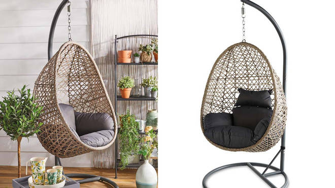 Aldi's popular £150 hanging egg chair is back on sale this ...