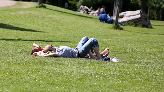 Brits will bask in 29C this week