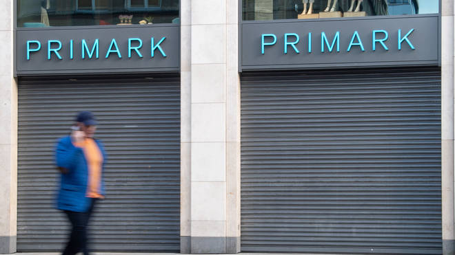 Primark closed their UK stores on March 22 when the lockdown was announced