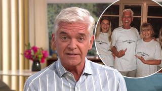 Phillip Schofield has opened up about spending time with his family