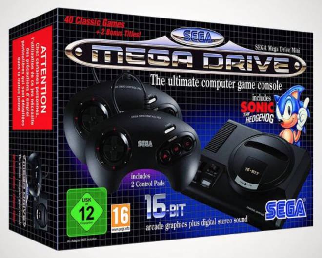 Sega Mega Drive Mini Console, £75.00