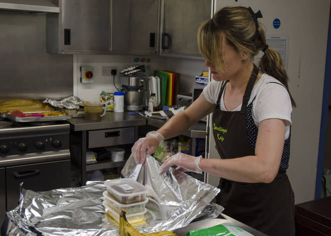 There are plenty of opportunities to volunteer at food banks