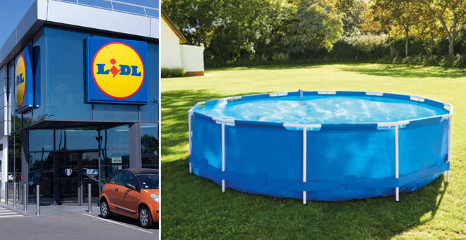 The pool will be in stores from this Sunday