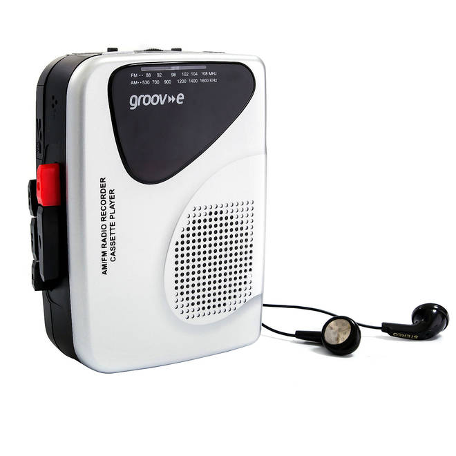 Groov-e Retro Cassette Player, £19.99