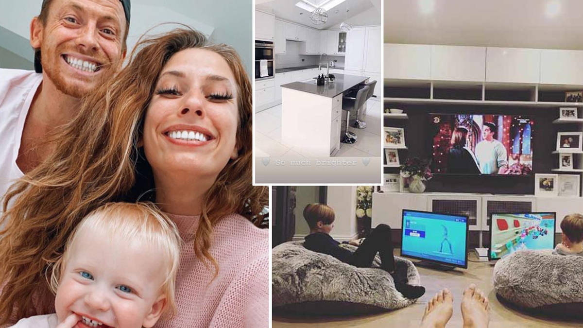 Inside Stacey Solomon and Joe Swash's family home
