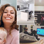 See inside Stacey Solomon's family home
