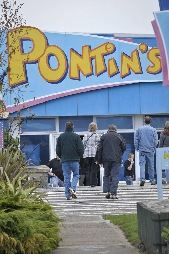 Pontins is planning to reopen for eight weeks