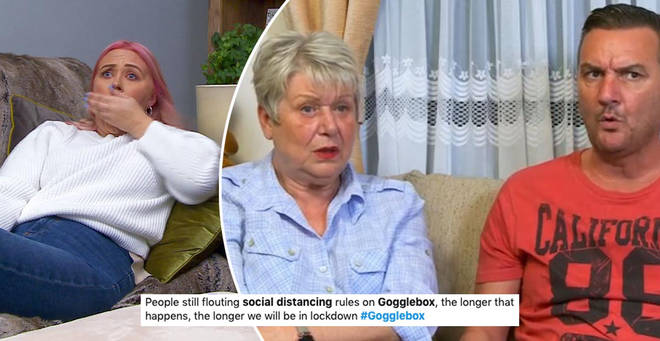Gogglebox fans have accused stars of breaking lockdown rules
