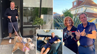 Harry Redknapp and Sandra live in a huge mansion