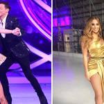Joe Swash changed partners during Dancing On Ice