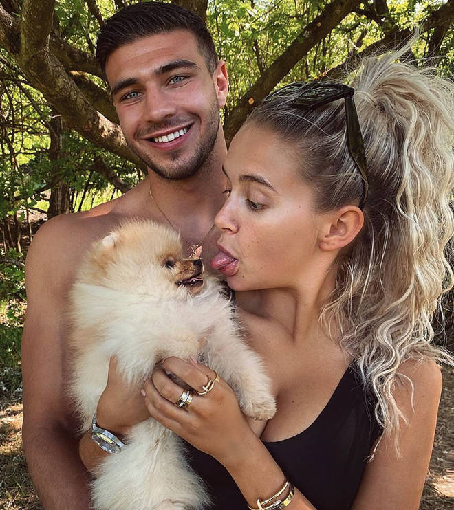 Tommy Fury gifted the puppy to Molly-Mae for her 21st birthday