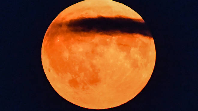 The penumbral lunar eclipse will give the moon a tea-coloured hue