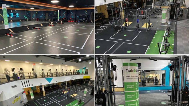 Gyms are planning how they can safely reopen later in the year