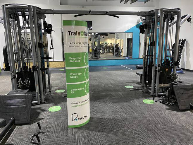 Staff will be trained to understand and enforce the new rules around the gym