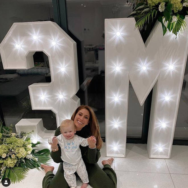 Stacey Solomon has more than 3million Instagram followers