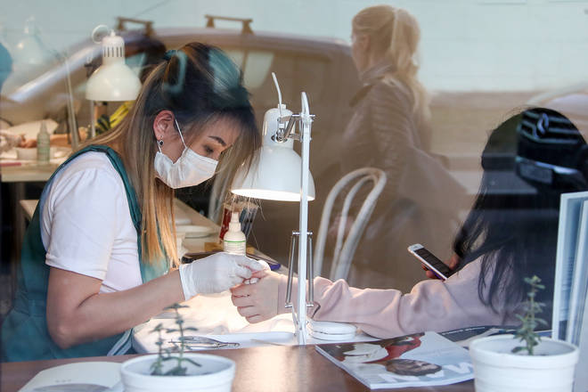 Salons will put safety measures in place