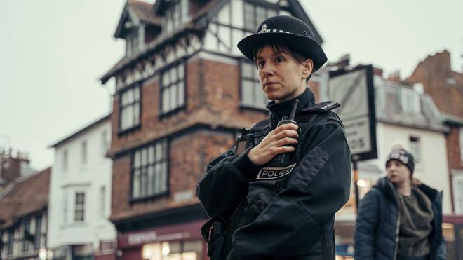 Natalie Klamar as Sergeant Tracy Holloway in The Salisbury Poisonings