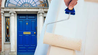 Painting your front door blue could make a huge difference