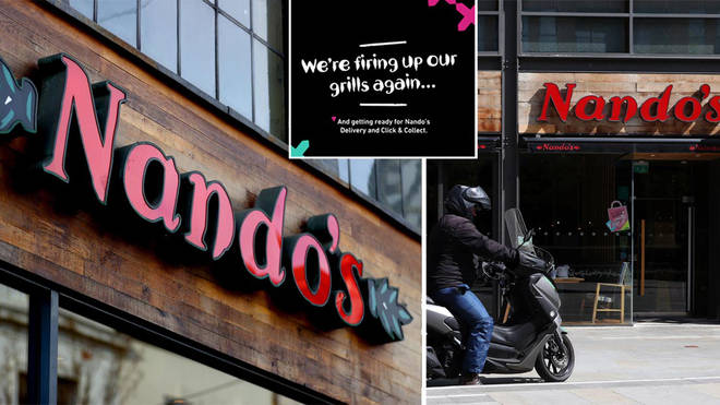 Nando's is delivering again