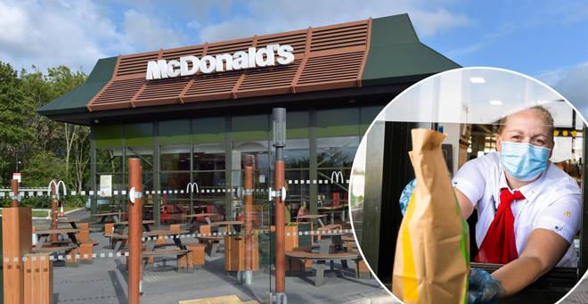 McDonalds is reopening its doors to customers