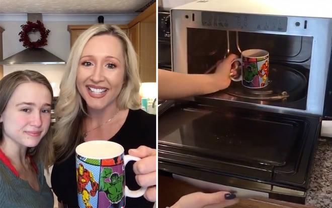 Her tea making methods were... questionable