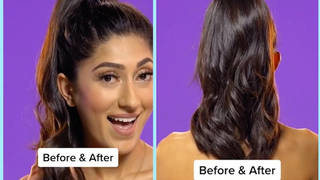 This hack will make your hair look amazing without the need for extensions