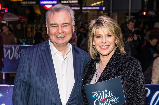 Ruth has credited Eamonn with helping her through this time