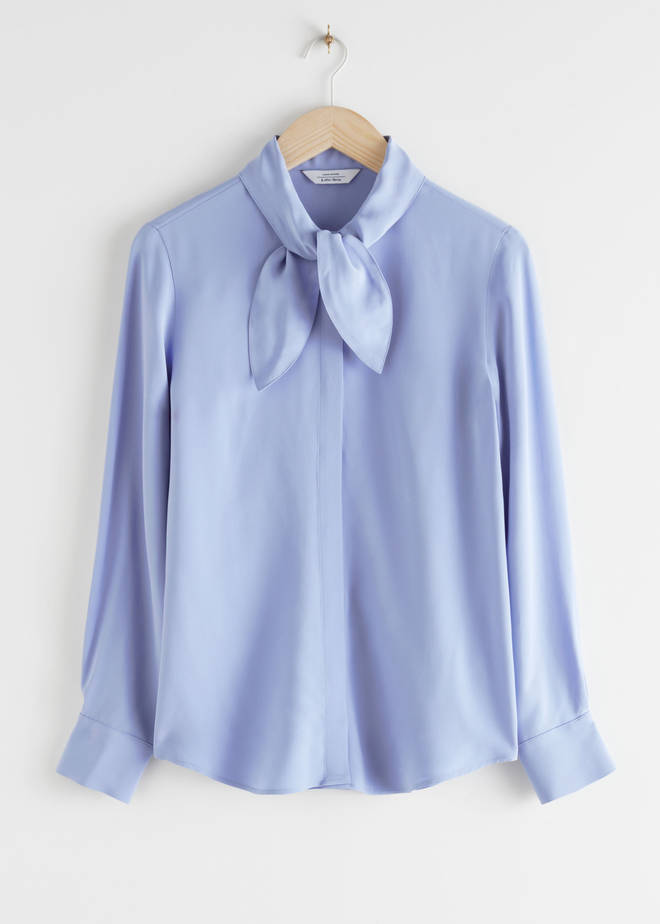 Holly Willoughby's blouse is from & Other Stories