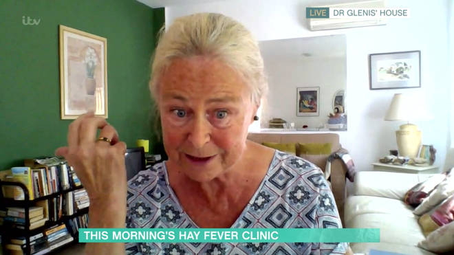Dr Glennis Scadding has given tips on dealing with hay fever