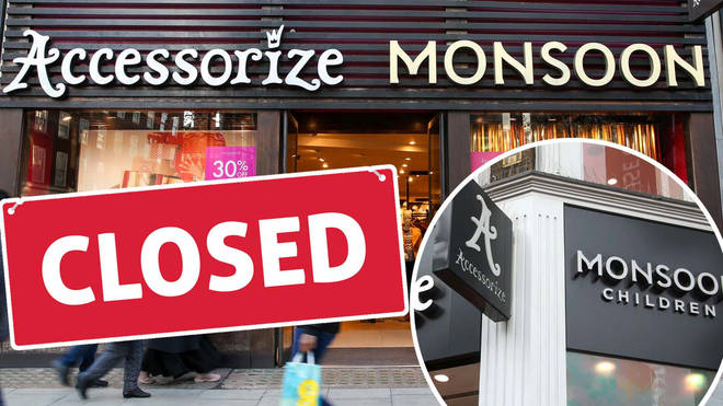 Monsoon Accessorize will be closing 35 stores
