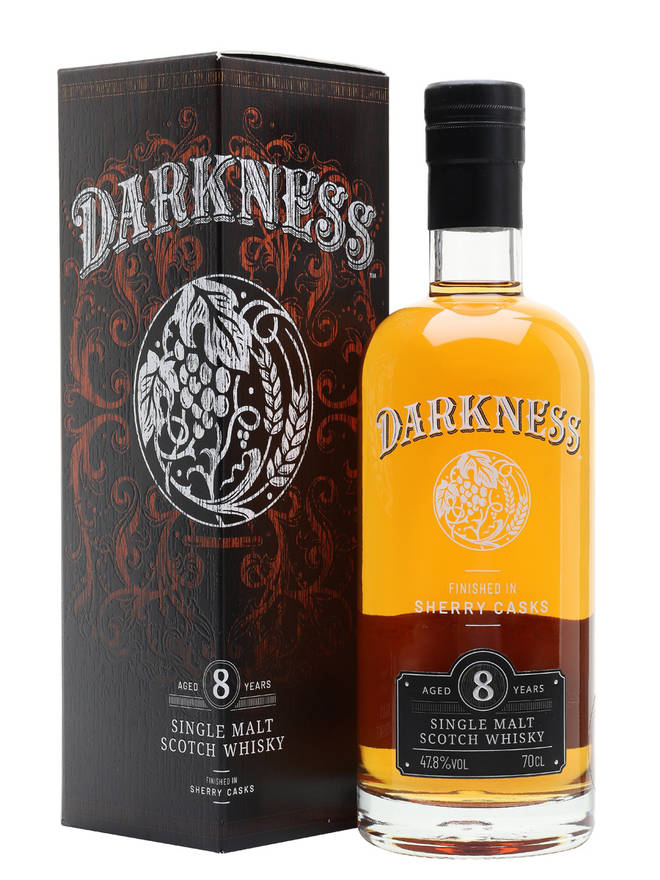 This specially matured whisky has a fruity taste and notes of Amoretti