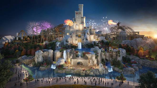 It'll be the biggest British theme park