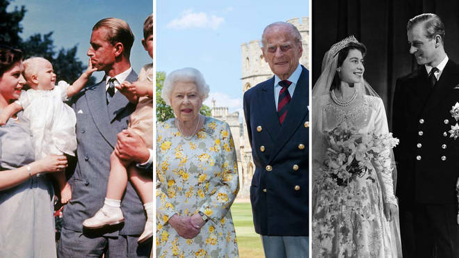 The Queen and Prince Philip have been married for 72 years now