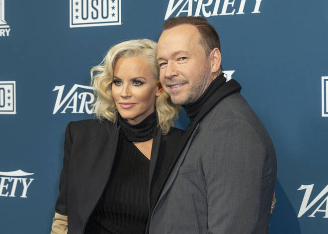 Jenny is married to singer and actor Donnie Wahlberg