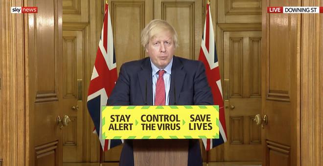 Boris Johnson led the meeting today