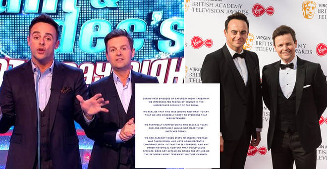 Ant and Dec have released a statement to Twitter