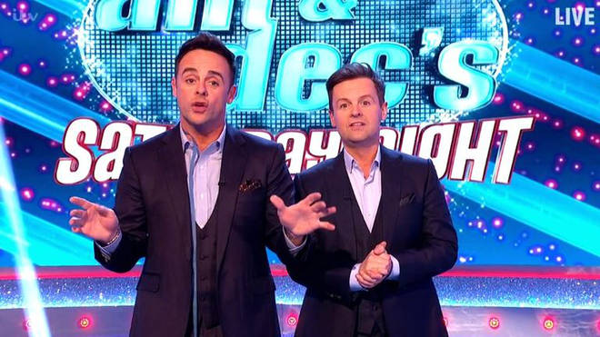 The Saturday Night Takeaway episodes have been removed from the ITV Hub