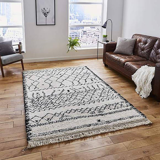 Dunelm has some gorgeous modern rugs