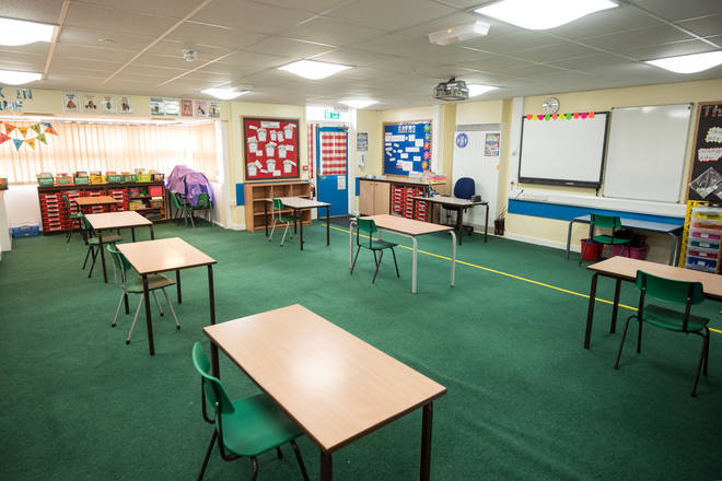 Schools are currently open for some pupils in England