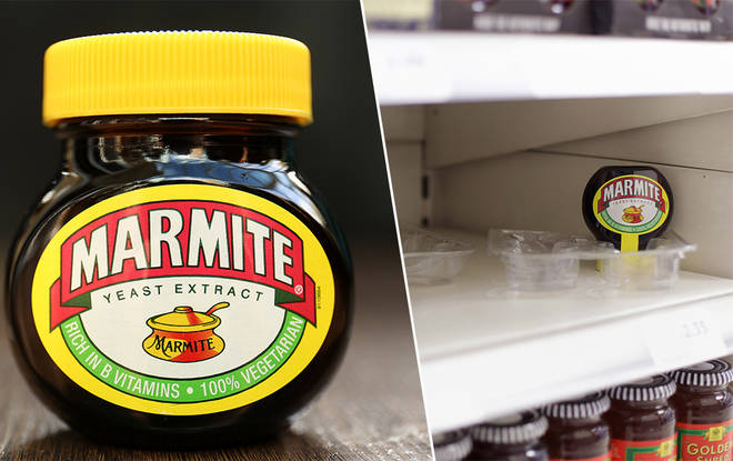 Marmite is running low due to lockdown