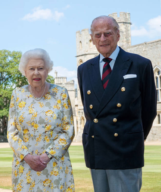 The Queen has been isolating at Windsor Castle with Prince Philip