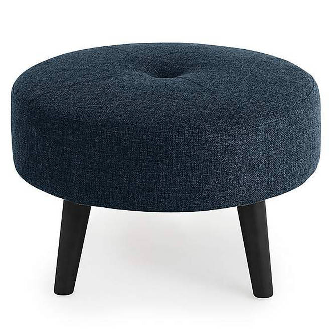 This footstool is so stylish