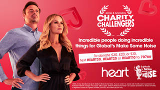 Don't miss Jamie and Amanda's Charity Challengers